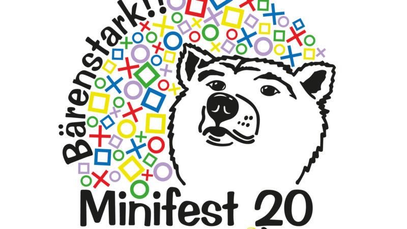 Logo des Minifests vom 6. September 2020 in St. Gallen | © Damp
