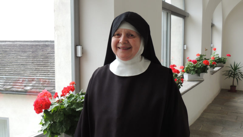 Maria Sofia Cichetti, Priorin und designierte Äbtissin des Klosters von Claro | © zVg
