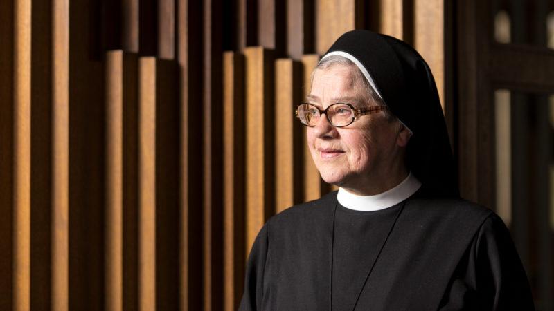 Simone Buchs, Priorin des Klosters Heiligkreuz in Cham | © Aargauer Zeitung/Claudio Thoma