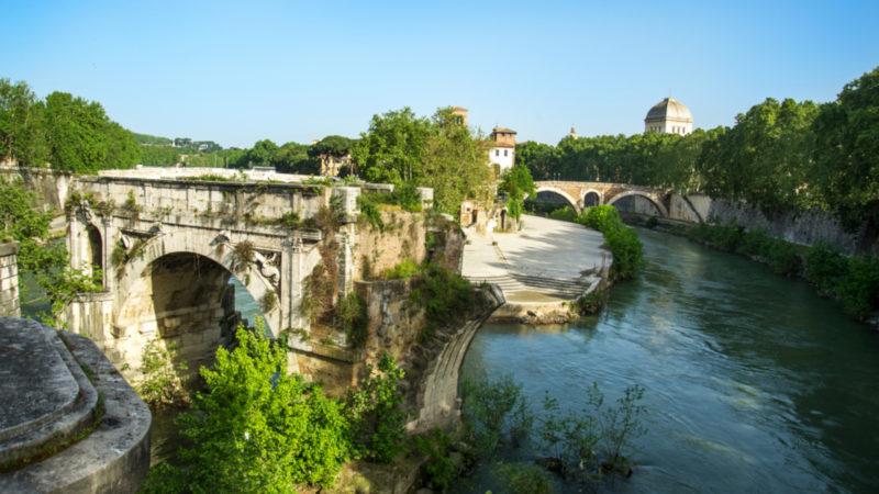 Der «Ponte Rotto» – die älteste Steinbrücke von Rom | © Keystone