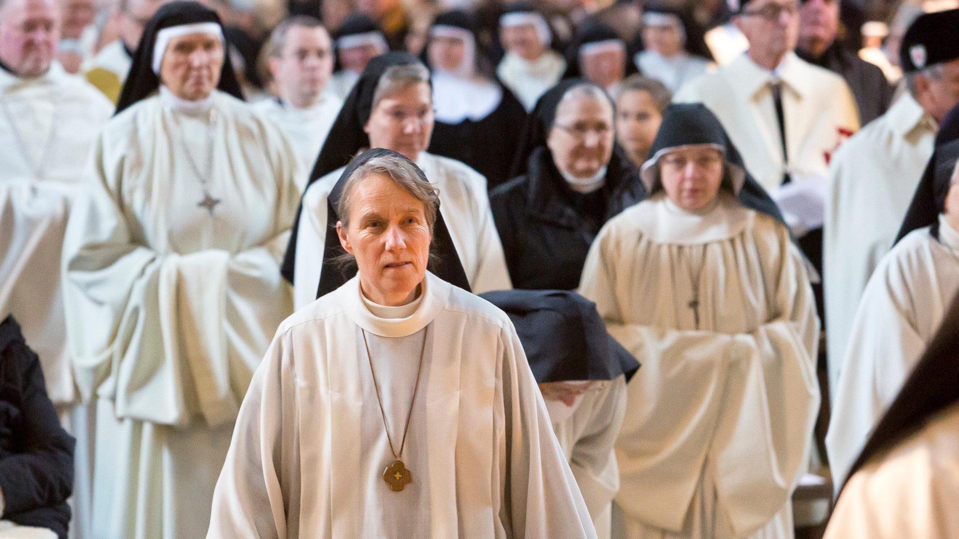Ordensfrauen an der Abtweihe von Vinzenz Wohlwend am 2. Januar 2019 | © Mathis Fotografie GmbH, Hohenems