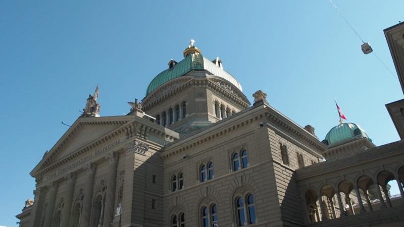 Wie sollen sich die Kirchen im Wahljahr in die Politik einbringen? Das Bundeshaus in Bern | © Ueli Abt