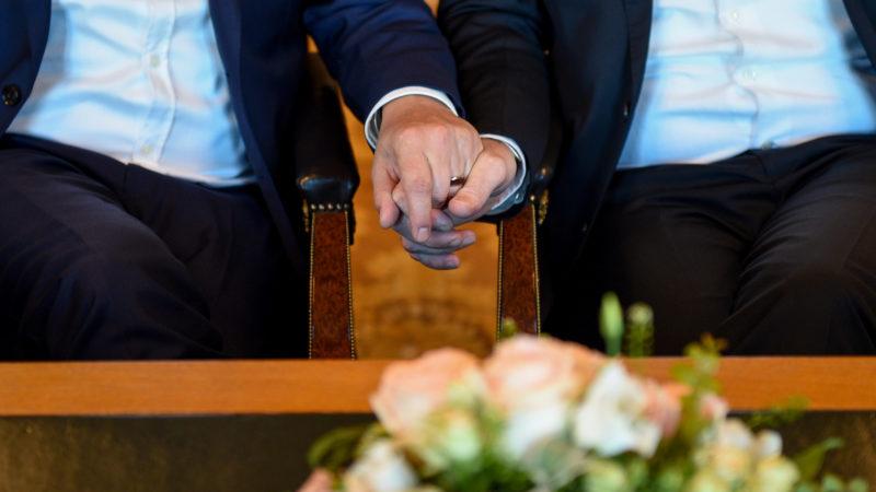 Hochzeit eines homosexuellen Paares | © Keystone