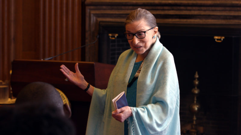 Die Juristin Ruth Bader Ginsburg   © Ascot Elite Entertainment Group. All Rights Reserved