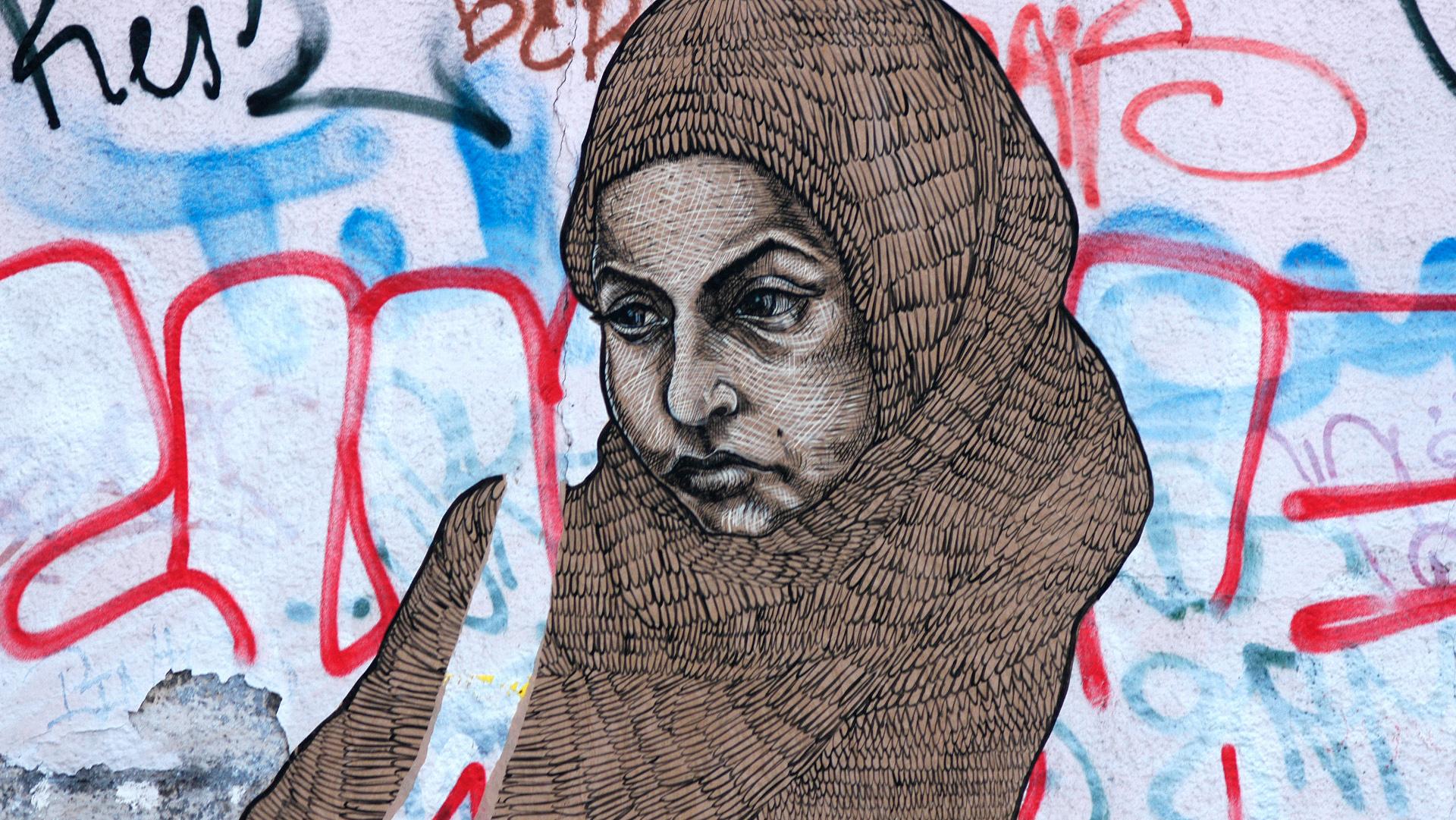 Street-Art in Berlin-Kreuzberg. | © Vera Rüttimann