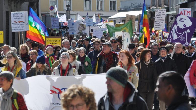 Bodensee-Friedensweg in Bregenz | © zVg