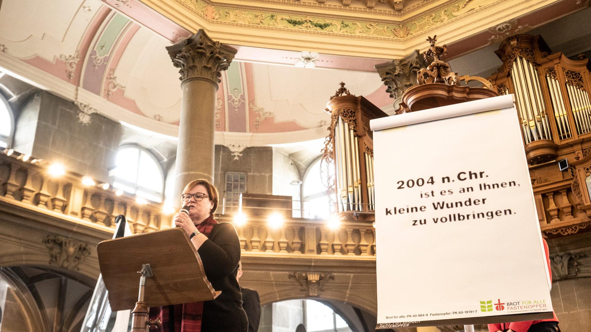 Monika Schmid plädiert für Frauen-Power | © Vera Rüttimann