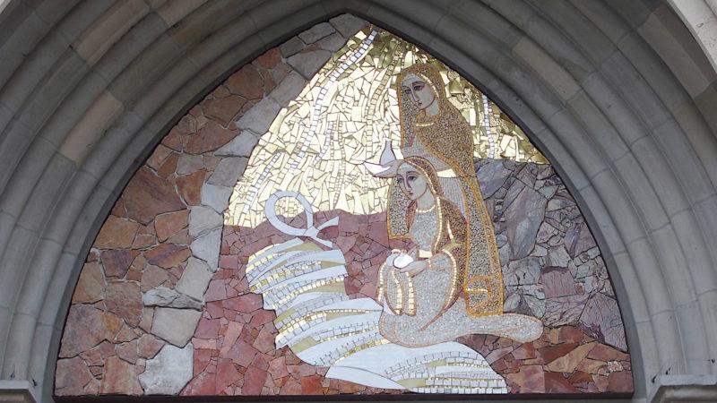 Mosaik auf dem Genfer «Weg der Freude» | © eglisecatholique-ge.ch