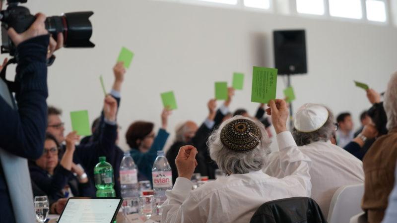 Delegiertenversammlung des Schweizerischen Israelitischen Gemeindebundes in Zürich. | © zVg/SIG