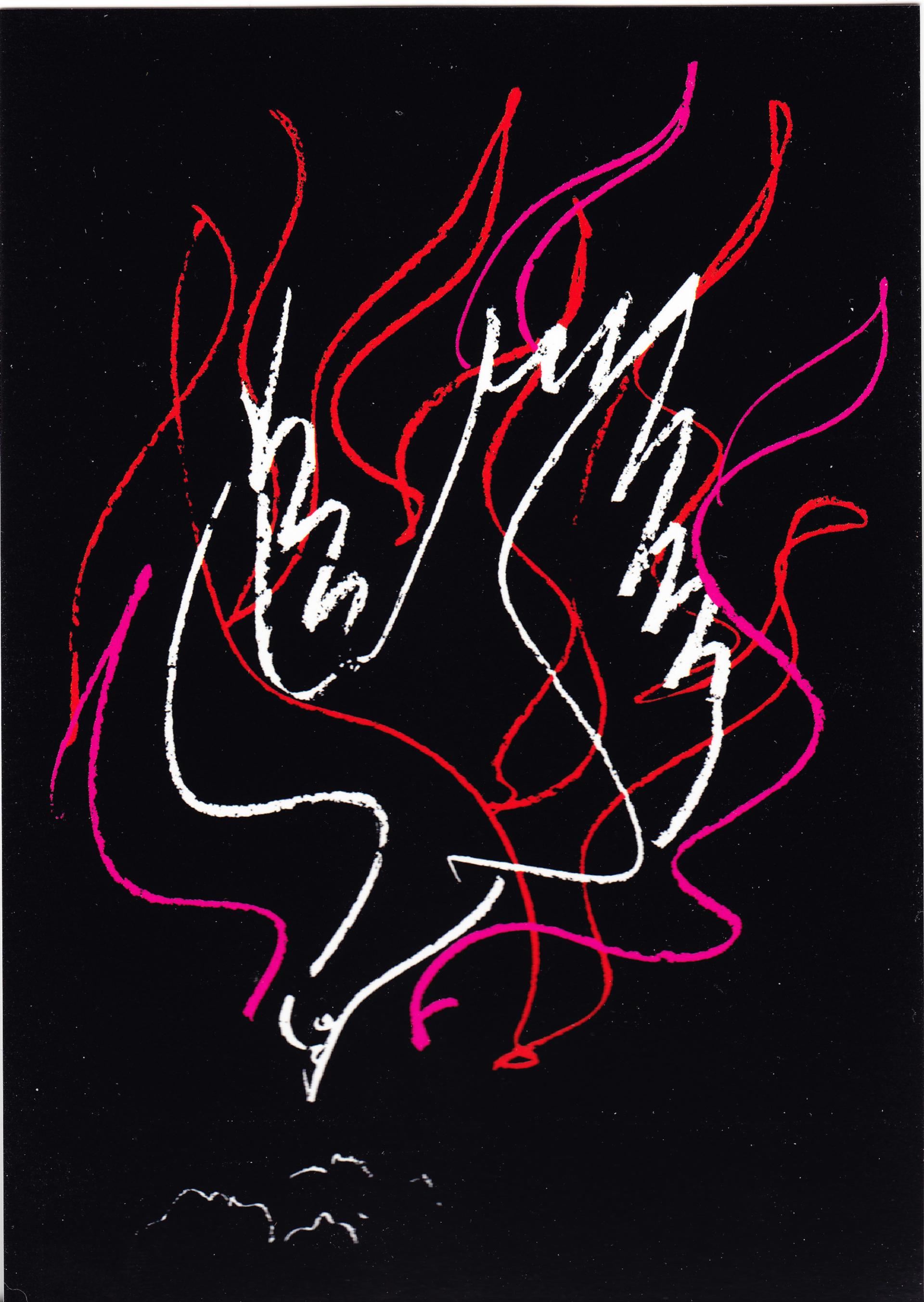 Die Feuertaube, das Signet der Ökumenischen Versammlung von Basel 1989 | © Institut für Ökumenische Studien, Universität Freiburg