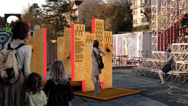 «Facettenreich – Andere Geschichten» ist eine Wanderausstellung zum Thema Diskriminierung aufgrund Migrationsgeschichte. Visualisierung | © Sonja Koch