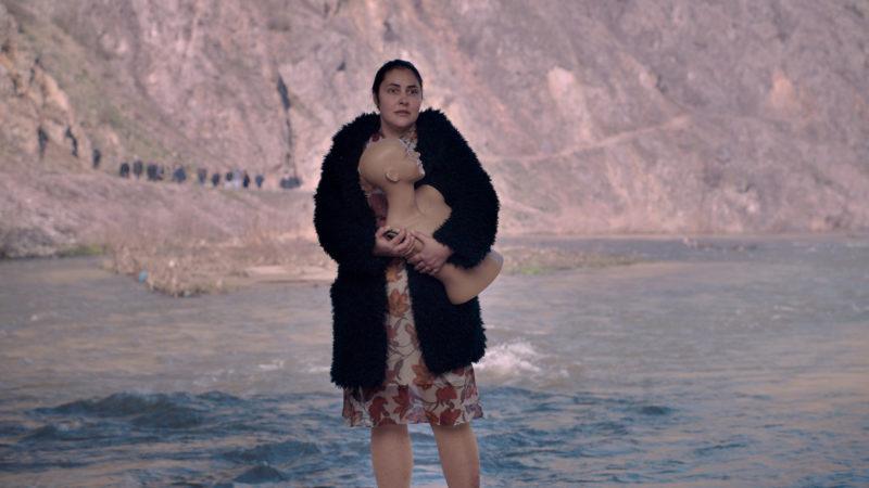 Petrunya (Zorica Nusheva) lehnt sich gegen die patriarchalische Gesellschaft auf. | © trigon-film.org