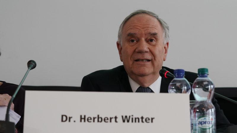 Herbert Winter, Präsident Schweizerischer Israelitischer Gemeindebund | © zVg/SIG
