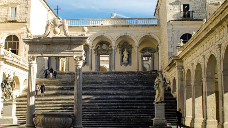 Die Abtei Montecassino | © pixabay/valtercirillo, Pixabay License