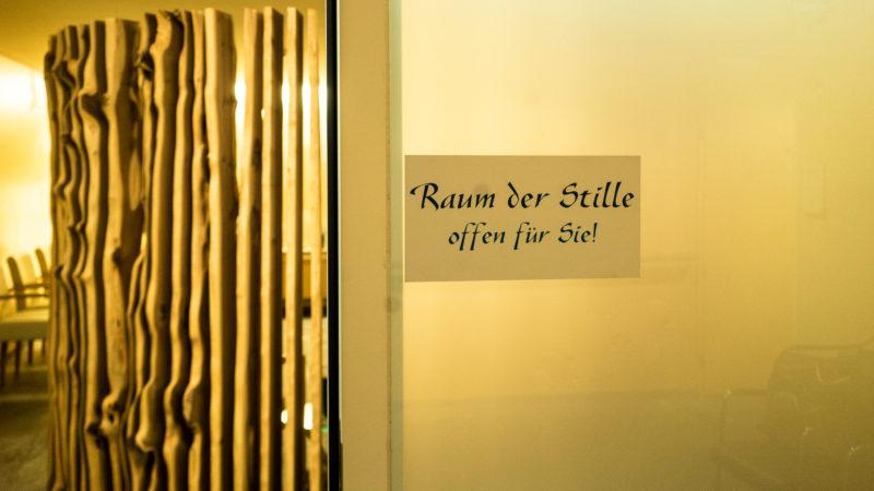 Raum der Stille   © Vera Rüttimann
