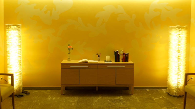 Raum der Stille im Mattenhof   © Vera Rüttimann