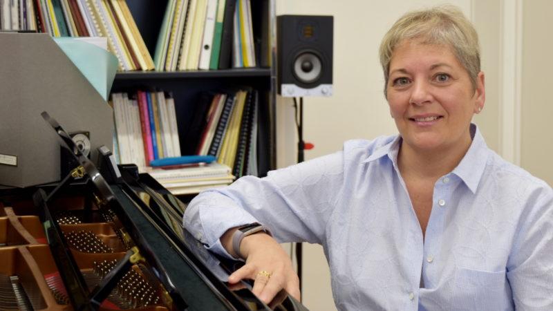 Kimberly Brockman leitet heute die Diözesane Kirchenmusikschule St. Gallen. | © Barbara Ludwig