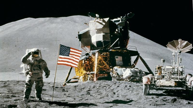 Erste Mondlandung, 21. Juli 1969
