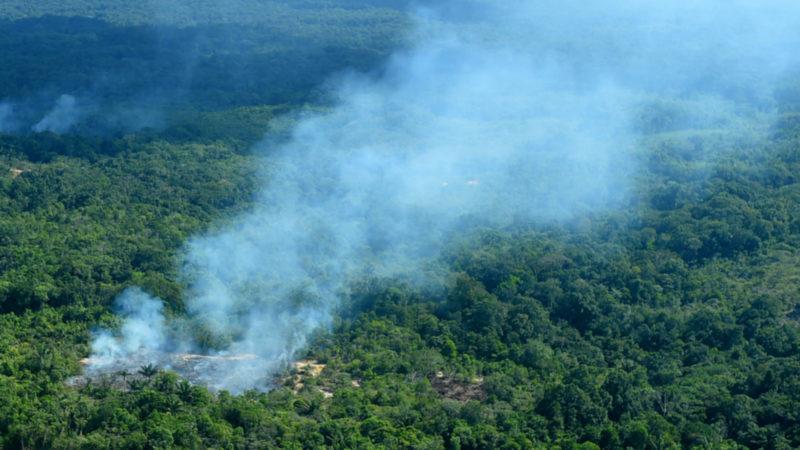 Waldbrände in der brasilianischen Region Sao Gabriel da Cachoeira | © Keystone