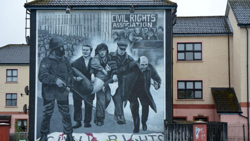 Wandgemälde in Derry  | © FS/, Pixabay