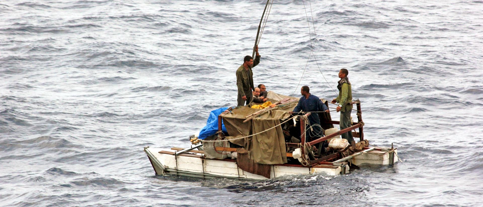 Flüchtlinge auf See