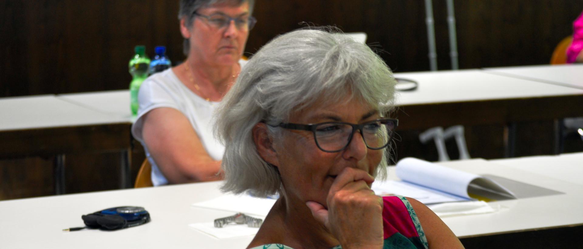 Karin Ottiger und Iva Boutellier