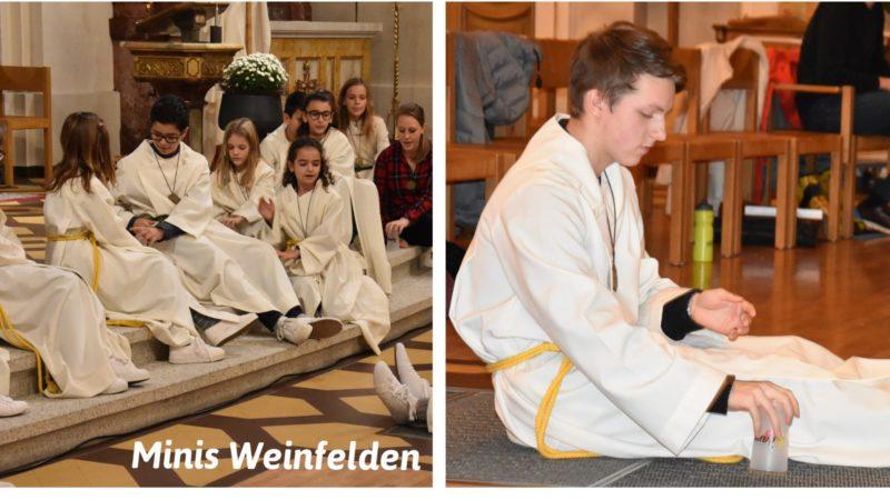 Ministrantenaufnahme in Weinfelden