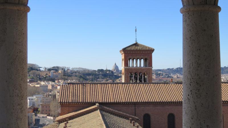 Sant'Anselmo, Zentrum des Benediktinerordens, auf dem Aventin-Hügel von Rom. | © Br. Paul Tobler OSB