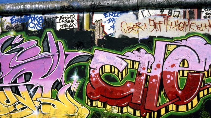 Reste der Berliner Mauer in Berlin-