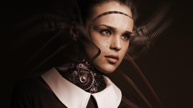 Roboter und Mensch | © pixabay.com CC0
