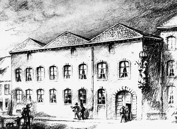 1852 erwarb Kolping für den Kölner Gesellenverein das erste Gesellenhaus. Bild kolping.de