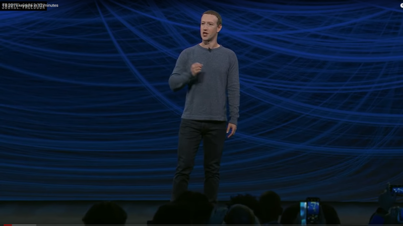 Facebook F8 Konferenz | © Printscreen YouTube