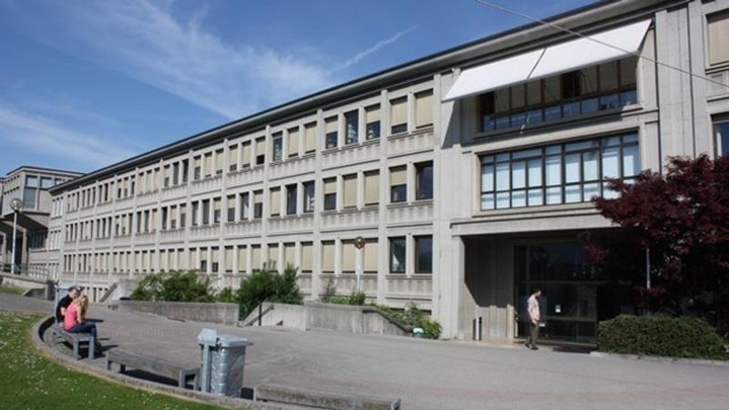 Le bâtiment Miséricorde de l'Université de Fribourg en Suisse (Photo: Bernard Bovigny)