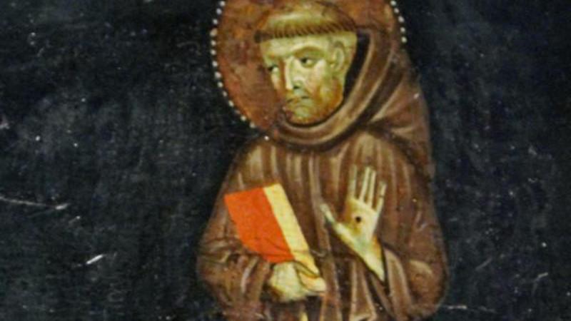 Saint François d'Assise portant les stigmates (Maître de Montelabate, 1285 |  fickr/jcapaldi/CC BY 2.0)