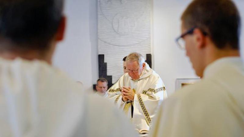 """Le prêtre doit cultiver """"la relation d'amitié personnelle avec Jésus"""",  Photo: Pierre Pistoletti"""