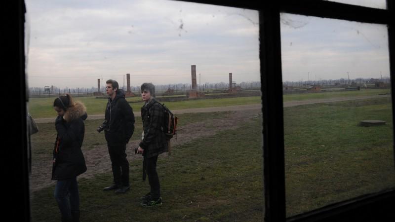 Le camp de concentration d'Auschwitz-Birkenau (photo Maurice Page)