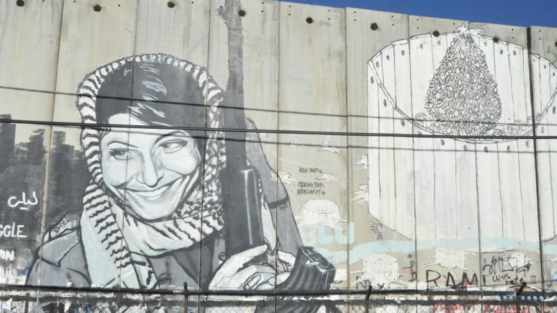 Bethléem, le mur de séparation (photo Maurice Page 2014)
