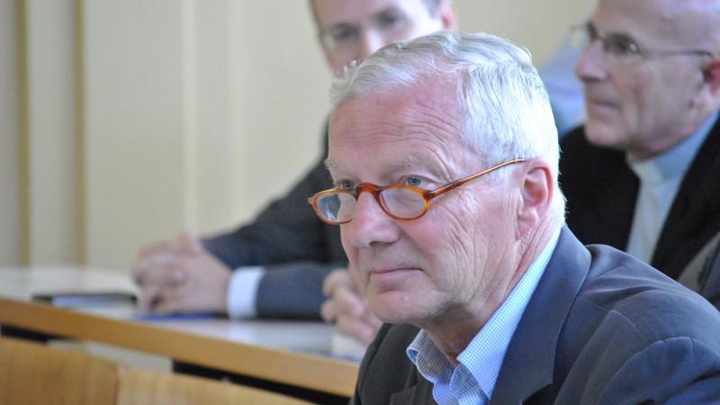 Ancien juge cantonal vaudois Philippe Gardaz (1947-2018) était un spécialiste du droit ecclésiastique  (photo Maurice Page)