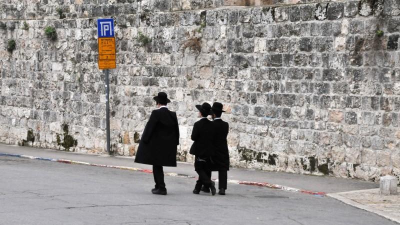 Enfants juifs en vieille ville de Jérusalem (photo Maurice Page 2014)