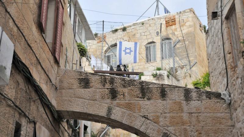 Colonisation juive en vieille-ville de Jérusalem | © Maurice Page