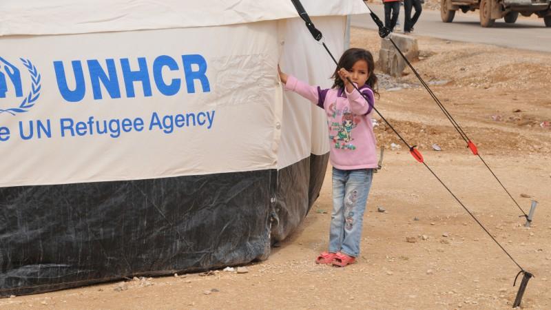 Petite réfugiée syrienne en Jordanie | © Maurice Page