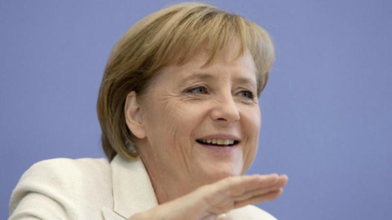 La chancelière allemande Angela Merkel (Image: compte twitter)