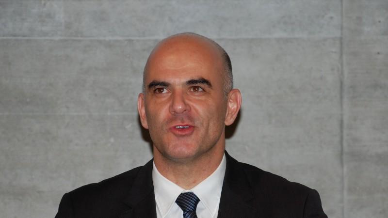 Le Conseiller fédéral Alain Berset, chef du Département de l'Intérieur (DFI) (photo Jacques Berset)