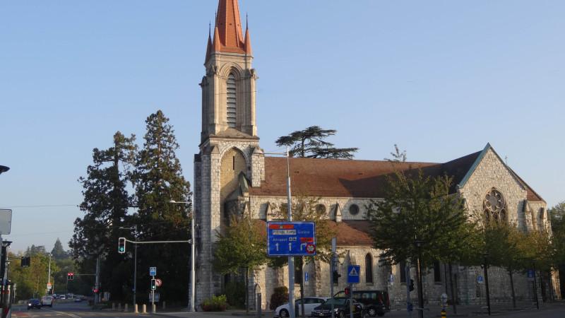 Foyer Au Grand Lancy : Genève une crèche géante à l église du grand lancy cath