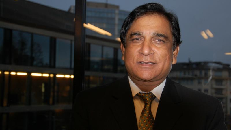 Pakistan Paul Bhatti, président de la All Pakistan Minorities Alliance APMA (Photo: Jacques Berset)