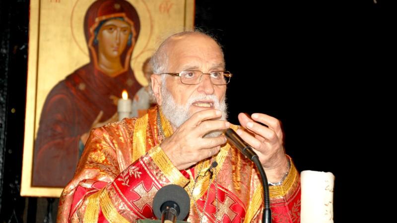 Syrie Patriarche Grégoire III Laham, chef de l'Eglise grecque-melkite catholique (Photo: Jacques Berset)