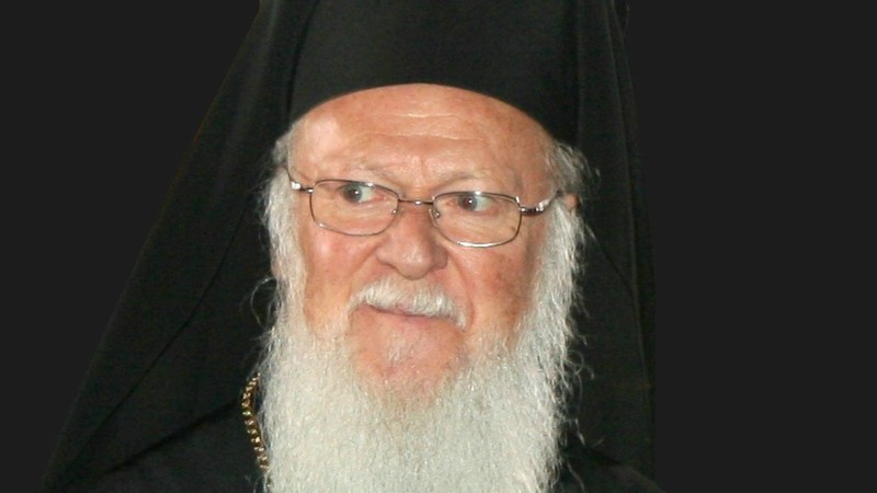 Bartholomée Ier, patriarche orthodoxe de Constantinople (Photo:Massimo Finizio/Wikimedia Commons/CC BY 3.0)