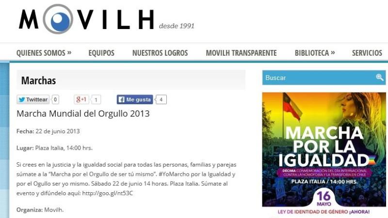 Le Mouvement pour l'intégration et la libération homosexuelles au Chili se bat avec l'Opus Dei sur le nom Opus Gay