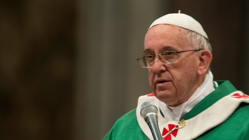 Le pape François (Photo:Catholic Church of England/Flickr/CC BY-NC-SA 2.0)
