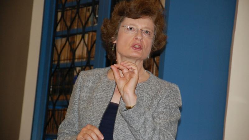 Professeur Julia M. H. Smith, Université de Glasgow (Photo: Jacques Berset)